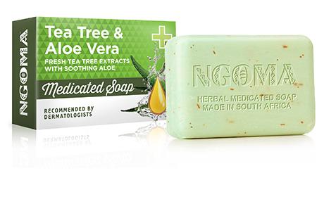 Ngoma Tea Tree Amp Aloe Vera Soap